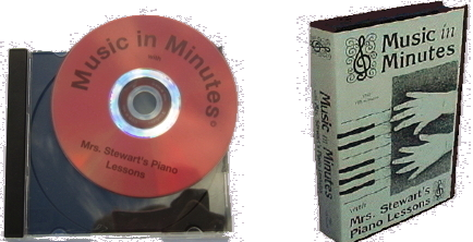 Picture of Mrs Stewarts Piano Lessons video tape for Piano Teacher and Group Teaching. A beginning Piano Method for Preschool, Adults, Children, Teachers, Homeschool and Group Teaching